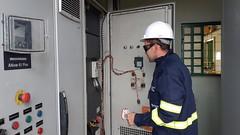 08.11.18 Ageman acompanha instalação de geradores.