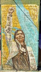 Standing Rock by Lanopi (wiredforlego) Tags: graffiti mural streetart urbanart publicart williamsburg brooklyn newyork nyc ny wheatpaste pasteup lanopi