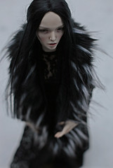 Snow (dolls of milena) Tags: bjd resin doll argodoll argonautica leith portrait outdoor snow