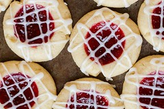 Raspberry and Almond Shortbread Thumbprints (katalaynet) Tags: follow happy me fun photooftheday beautiful love friends