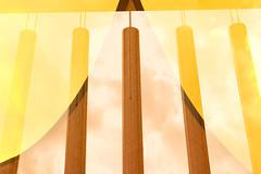 In der Luft hängen (maywind72) Tags: bremen doppeltbelichtung farbfilter fotomarathon mehrfachbelichtung gelb