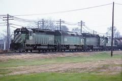 BN SD45 6420 (chuckzeiler50) Tags: bn sd45 6420 railroad emd locomotive galesburg train chuckzeiler chz