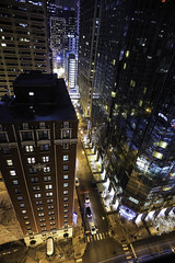 My Room With A View (Anthony Mark Images) Tags: chicago illinois usa view hotelroomwindow myroomview marriothotel nightshot reflections nikon d850