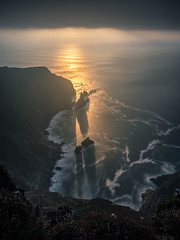 Slieve League at sunset - Donegal, Ireland - Seascape photography