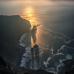 Slieve League at sunset - Donegal, Ireland - Seascape photography thumbnail