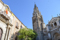 The Primate Cathedral of Saint Mary of Toledo (M Malinov) Tags: spain spanish toledo europe eu earth architecture cathedral city building church catholic испания толедо европа град катедрала архитектура saintmary