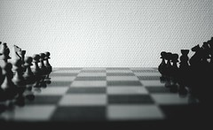 black-black-and-white-blur-112854 (toptenalternatives) Tags: black blackandwhite blur board game chess pieces chessboard figures shadows white