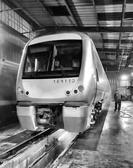 168113 (R~P~M) Tags: train railway diesel dmu multipleunit 168 arriva chilternrailways depot aylesbury bucks buckinghamshire england uk unitedkingdom greatbritain