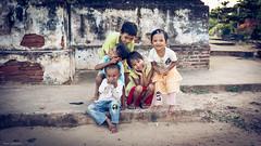street children (Laszlo Horvath.) Tags: myanmar bagan buddhism nikon street children sigma1835mmf18art nikond7100 portrait portraiture travelling travel