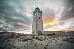 abandoned lighthouse from 1899 ([AndreasS]) Tags: rubjerg knude fyr lighthouse abandoned denmark decay derelict