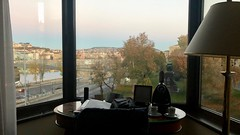 View from my Bed (RobW_) Tags: early morning view desk window sofitel budapest hungary amaviola danube 16nov2018 november 2018