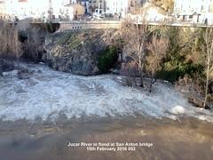 Jucar River in flood at San Anton bridge 15th February 2016 002 (D@viD_2.011) Tags: jucar river flood san anton bridge 15th february 2016