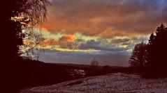 sky (kadege59) Tags: nature canon canonpowershotsx230hs wow wonderfulnature weather wald sky suhl supi herbst autumn e
