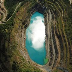 Antiga Pedreira. (VasconcelloSilva) Tags: mavicpro dji drone voo natureza natgeotravel nature nat water flickr flickrglobal brasilbrazil fotografiaporhobby hobby