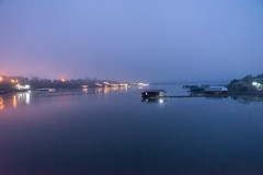 Misty morning (Thanathip Moolvong) Tags: misty foggy morning blue hour holiday thailand kanchanaburi