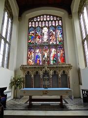 Stoke by Nayland - St Mary's (Glass Angel) Tags: reredos eastwindow suffolk uk england stokebynayland stmaryschurch