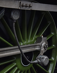 60163 Tornado - Speedometer (simmonsphotography) Tags: railway railroad nenevalley heritage preservation locomotive engine train steam uksteam 60163 tornado peppercorn a1 lner pacific newbuild speedometer wansford