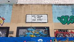 Wu-Tang is for the children (Coastal Elite) Tags: wutangclan children kids wutang dartmouth graffiti wall novascotia harbourwalk dartmouthcovemuralartproject streetart legalwall wallart hrm halifax urban street art harbour harbor maritimes atlanticcanada canadian canada harborwalk hiphop odb oldirtybastard popculture quote wu tang clan