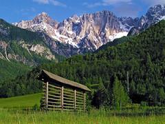 Siroka Pec (Vid Pogacnik) Tags: slovenija slovenia julianalps martuljekgroup širokapeč sirokapec outdoors landscape mountain hayrack