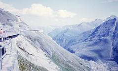 Großglockner Hochalpenstraße (zeesstof) Tags: geo:lat=4707449601 geo:lon=1275214156 geotagged zeesstofsmom kodachrome film 35mmslidefilm mamiya 1969 summerholiday mountains alps austrianalps triptothegrossglockner snow snowinsummer glacier pasterzeglacier grossglockner 3798m highestmountaininaustria alpineroad grosglocknerhochalpenstrase