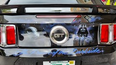 170610_30_LFT_DarthVader (AgentADQ) Tags: leesburg ford mustang car auto automobile gt darth vader