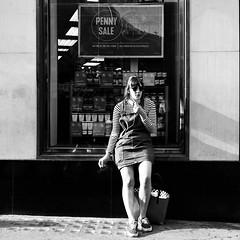 IMG_6562s (JetBlakInk) Tags: candid magichour mono portrait pov women streetphotography smoking