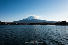 Mt Fuji with Kawaguchiko Lake (Pop_narute) Tags: mt fuji with kawaguchiko lake mountain cloud sky 空 fujisan water landscape nature