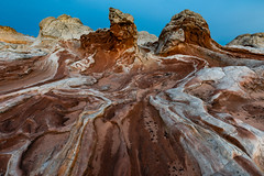 Chicken Rock (M@ H) Tags: abstract arizona desert nobody picturesque rugged scenic az butte canyon coyote erosion formation geology landscape nature noperson rock sand sandstone vermillioncliffs wave whitepocket wilderness