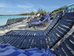 Half Moon Cay, Bahamas, Day 4 -- Caribbean Cruise Vacation, Lounging at the Beach (Mary Warren 12.9+ Million Views) Tags: bahamas halfmooncay nature flora plants green hollandamerica cruise vacation caribbeansea water beach beachchairs people