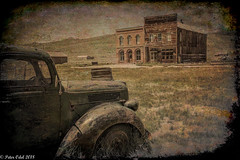 Bodie was a rough place 2 (p_odel) Tags: bodie californien usa california ghosttown old car