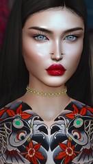 Forbidden Colours (Grigorovich Mjel) Tags: amarabeauty carolg aviglam vvoluptasvirtualis catwa portrait mjelgrigorovich grigorovichm secondlife 3d avatar
