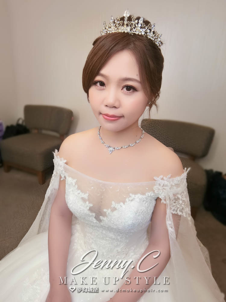 【新秘蓁妮】bride慧芯 訂結婚造型 /新竹晶宴會館