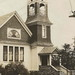 NW Central Lake MI RPPC c.1920 Antrim County Congregational Church and Bell Tower used then to CALL IN THE TORCH LAKE AREA FLOCK Photographer UNK5