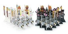 Customized LEGO mini figures chess set. (gkdldis1201) Tags: lego moc minifigure minifigures minifig minifigs mini figure creation custom chess game