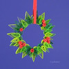 quilling wreath (polelena24) Tags: christmas paper strips quilling wreath leaves