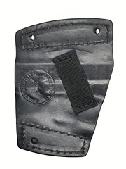 Glock 19 Car Holster Back (americanleathersmith) Tags: carholster leatherholster gunholster concealcarry holster mounted leather