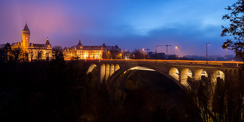 Iconic view of Luxembourg