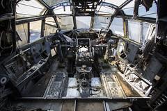 Where is Pilot? / Kde je pilot? (katka.havlikova) Tags: abandoned plane transport france francie fr aeroplane urbex urban exploration urbanexploration ue travel decay rust army military industry war