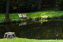 Hamacas junto al sol (mallatesta) Tags: parquelazienki polonia varsovia parque park citypark verano summer