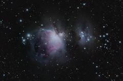 Orion's Sword (pablo_blake) Tags: orionssword m42 m43 ngc1973 ngc1975 ngc1977 runningman orionnebula astrometrydotnet:id=nova3157556 ngc1981 astrometrydotnet:status=solved ngc1976