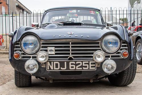 Brooklands Autumn Classic Breakfast - 1967 Triumph TR4A (NDJ