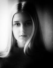 Vlada (Valentyn Kolesnyk (ValeKo)) Tags: pentax people portrait petzvale light look mood monohrome k3 ko120m 120mm 18