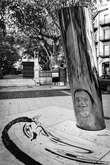 Reflexe (rossendgricasas) Tags: figueres bn bw dalí catalonia street streetphotography streetart urban urbanexplorer photography photographer photoday