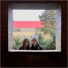 Garrison Forest ~ out the barn window (karma (Karen)) Tags: garrisonforest owingsmills maryland barn windows viewbeyond hww iphone squared minimester19