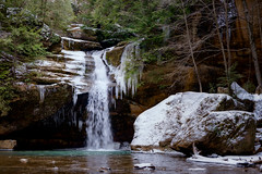 Chilly Lower Falls (rdr1051) Tags: winter waterfall hocking hockinghills ohio ohiostateparks