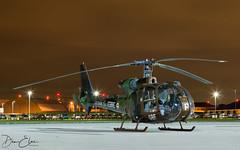 Aérospatiale SA 342M Gazelle (Dan Elms Photography) Tags: gazelle france french helicopter aerospatiale northolt nightshoot fmgbw danelms danelmsphotography wwwdanelmsphotouk aviation aviationphotography military militaryaviation