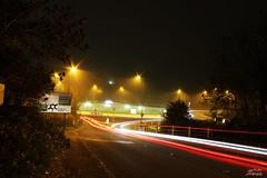 Wapses Lodge Roundabout (psychosteve-2) Tags: trails light roundabout caterham misty long time exposure