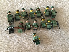Vietnam Grunts V2 (brickbro8) Tags: citizenbrick brickarms lego toy wiz custom vietnam grunts grunt brickmania