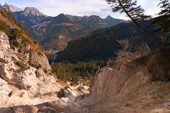 Blick von der Grünsteinhütte (1220m) ins Tal Königssee (Obachi) Tags: grünstein berchtesgarden flickr jenner