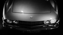 Fiat Dino Spider (Seb BAUDIN) Tags: nikon d7000 bretagne brittany breizh ouest motors festival 2018 noir et blanc black white monochrome voiture ancienne car classic automobile sébastien baudin